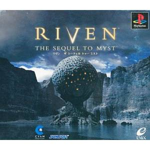 Riven - The Sequel to Myst [PS1 - Used Good Condition]