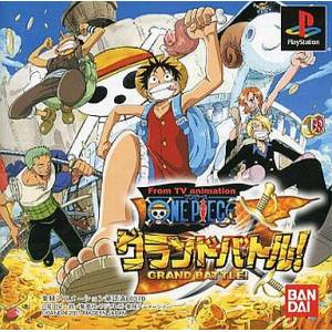 One Piece Grand Battle! [PS1 - Used Good Condition]