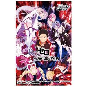 """Re:ZERO """"Starting Life in Another World"""" - Weiss Schwarz Booster Pack 20 Pack BOX [Trading Cards]"""