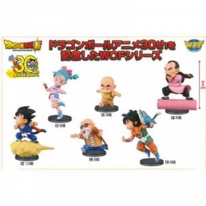 Dragon Ball Super ANIME 30th ANNIVERSARY (Vol.1 Full set) [WCF / Banpresto]
