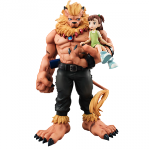 Digimon Tamers - Leomon & Kato Juri Limited Edition [G.E.M.]