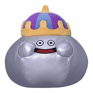 Dragon Quest - King Metal Slime Plush Doll S [Plush Toys]