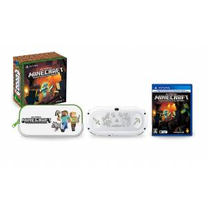 PlayStation Vita Glacier White Minecraft Special Edition Limited Bundle (MC2) [new]