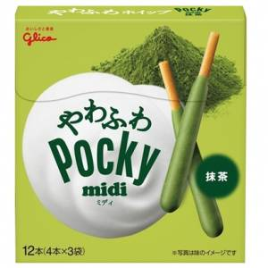 Glico Pocky Midi Matcha [Food & Snacks]