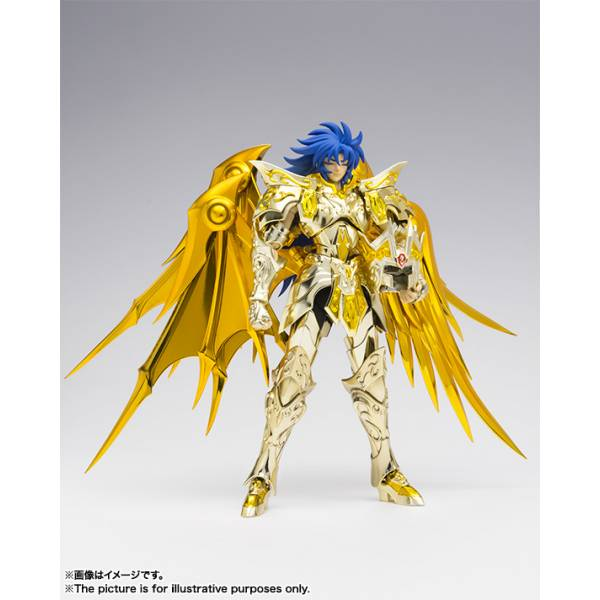 Saint seiya myth cloth ex gemini saga god cloth soul of gold saga premium set bandai - Decor saint seiya myth cloth ...