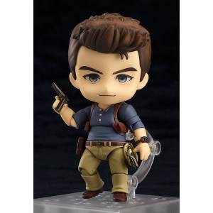 FREE SHIPPING - Uncharted 4: A Thief's End - Nathan Drake: Adventure Edition [Nendoroid 698]