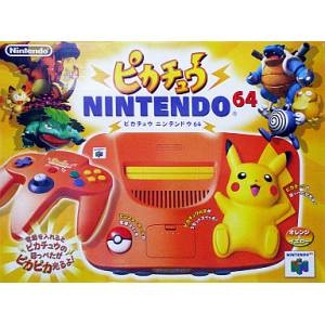 Nintendo 64 Pikachu - Orange [occasion BE]