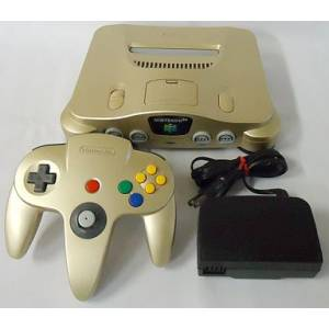Nintendo 64 Gold [occasion BE]