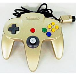 Controller N64 Gold (official Nintendo) [used good condition / loose]