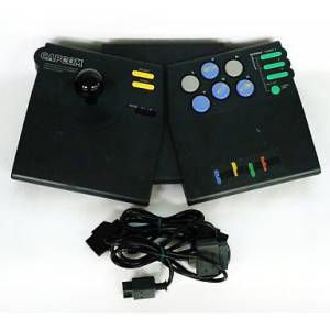 Capcom Power Stick Fighter [SFC - Used Good Condition / Loose]