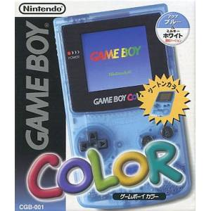 Game Boy Color Aqua Blue & Milky White Limited Edition [Used Good Condition]