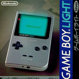 Game Boy Light Silver [GB - occasion BE]