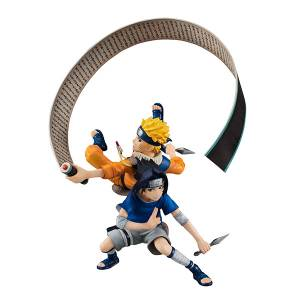 Naruto Shippuden Uzumaki Naruto and Sasuke Limited Edition [G.E.M. Remix]