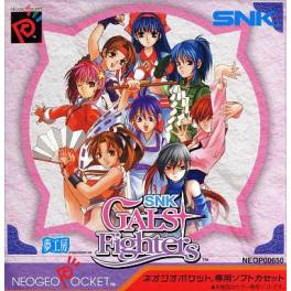 SNK Gals Fighters [NGPC - Used Good Condition]