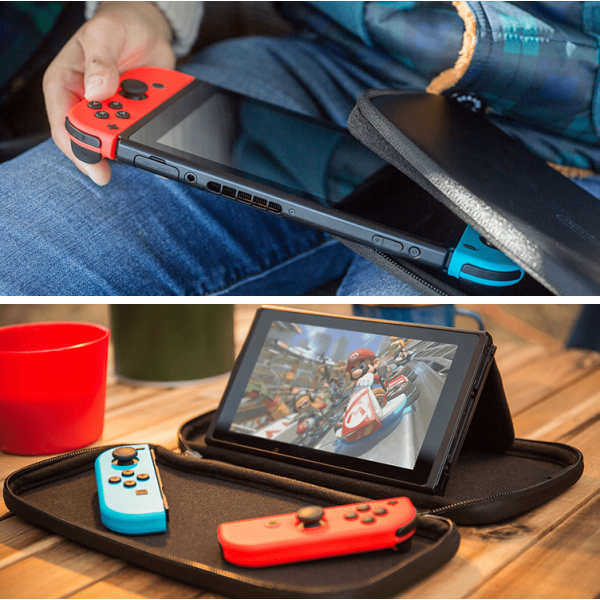 nintendo switch carrying case with screen protector. Black Bedroom Furniture Sets. Home Design Ideas