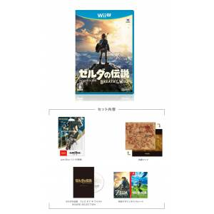 The Legend of Zelda: Breath of the Wild - Collector's Contents NinNinGame Special Limited Set [Wii U]