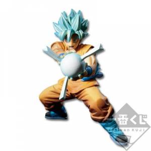 Dragon Ball Anime 30th Anniversary A Prize - Goku super saiyan god super saiyan [Ichiban Kuji / Banpresto]
