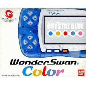 WonderSwan Color Crystal Blue Complete in box [Used Good Condition]