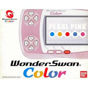 WonderSwan Color Pearl Pink Complete in box [Used Good Condition]