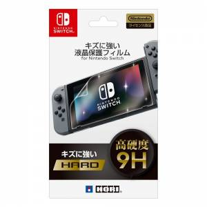 Liquid and Crystal scratch resistant protective film - Nintendo Switch [Hori]