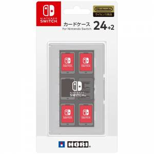 Card Case 24 + 2 for Nintendo Switch - White [Hori]