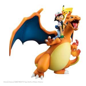 Pokemon - Satoshi /  Ash & Pikachu Lizardon / Charizard [G.E.M.]