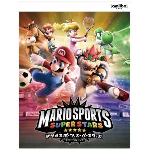 Mario Sports: Superstars - Amiibo Card Album[Wii U/3DS]
