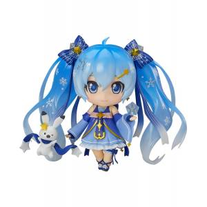 Character Vocal Series 01 - Snow Miku: Twinkle Snow Ver. Wonder Festival 2017 Winter Limited edition [Nendoroid 701]