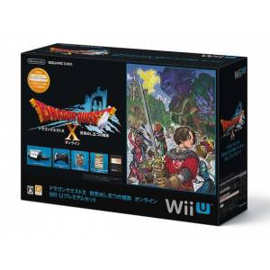 Wii U Black Dragon Quest X Premium Set [Occasion]