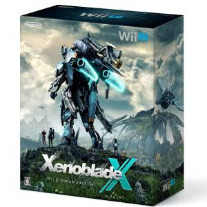 Wii U Black Premium Xenoblade Chronicles X Limited Bundle Set [Occasion]