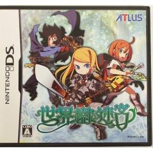 Sekaiju no Meikyuu / Etrian Odyssey [NDS - Used Good Condition]