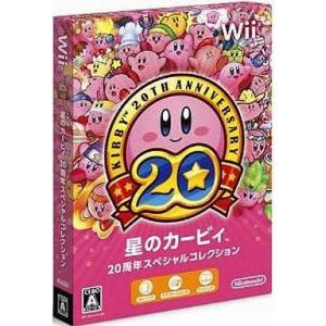 Hoshi no Kirby 20th Anniversary Special Collection / Kirby's Dream Collection - Special Edition [Wii - Used Good Condition]