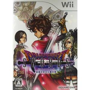 Dragon Quest Swords - Kamen no Joou to Kagami no Tou / La Reine Masquée et la Tour des Miroirs [Wii - Occasion BE]