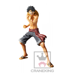 One Piece - Monkey D Luffy (Red Ver.) -2017 Body Calendar- [The Naked / Banpresto]