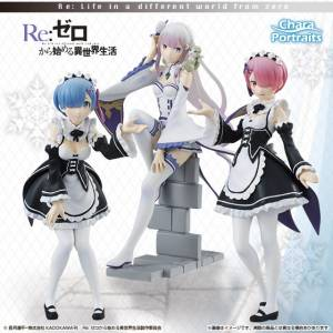 Re:ZERO -Starting Life in Another World-  Limited Set of 3 [CharaPortraits]