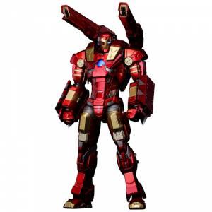 RE:EDIT - Iron Man MODULAR IRONMAN W/Plasma Cannon & Vibroblade [Sentinel]