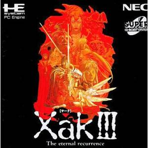 Xak III - The Eternal Recurrence [PCE SCD - occasion BE]