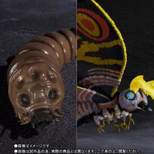 Godzilla vs Mothra - Mothra (Adult) & Mothra (Larvae) Special Color Ver. Limited Edition [SH MonsterArts]