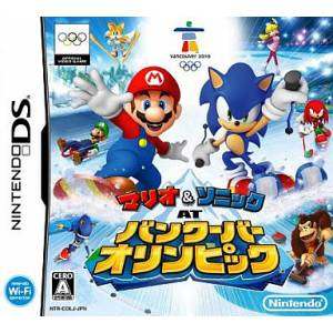 Mario & Sonic at Vancouver Olympic / Mario & Sonic at the Olympic Winter Games [NDS - Used Good Condition]