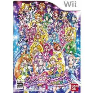 Precure All Stars Zeninshuugou - Let's Dance! [Wii - Occasion BE]
