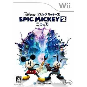 Epic Mickey 2 - Futatsu no Chikara / The Power of Two [Wii - Used Good Condition]