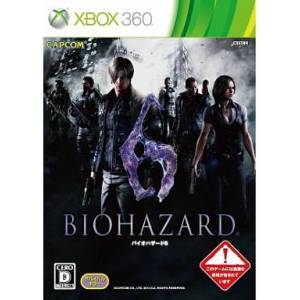 BioHazard 6 / Resident Evil 6 [X360 - Used Good Condition]