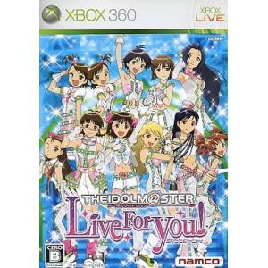 The Idolm@ster - Live for You! [X360 - Used Good Condition]