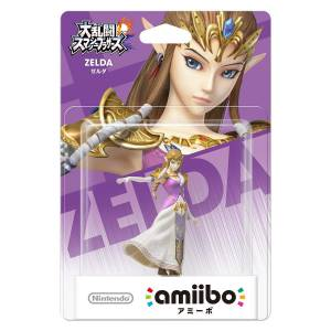 EN STOCK ! Amiibo Zelda - Super Smash Bros. series Ver. [Wii U]