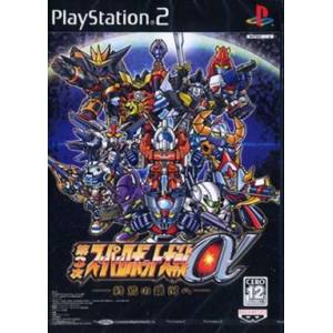 Dai-3-Ji Super Robot Taisen Alpha - Shuuen no Ginga he [PS2 - Used Good Condition]