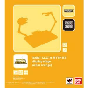 Saint Seiya Myth Cloth EX - Display Stage (clear orange) [Tamashii Nation 2011]