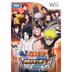 Naruto Shippuden - Gekitou Ninja Taisen! EX2 / Clash of Ninja Revolution 2 [Wii - Used Good Condition]