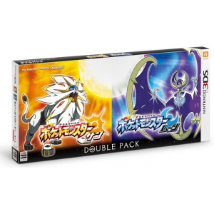 Pocket Monster Sun/Moon Double Pack / Pokemon Sun & Moon Dual Pack [3DS - Used Good Condition]