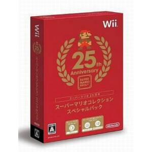 Super Mario Collection - Special Pack / Super Mario All Stars - Edition 25e Anniversaire [Wii - Occasion BE]