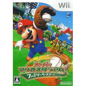Super Mario Stadium - Family Baseball / Mario Super Sluggers [Wii - Occasion BE]